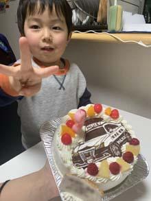 パトカーのキャラクターケーキ