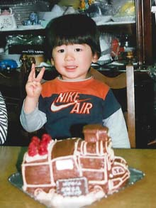 SLの立体ケーキ