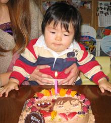 キャラクター 似顔絵 カップル ケーキ