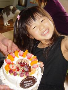 アンパンマン、ばいきんまん、ドキンちゃんのケーキ