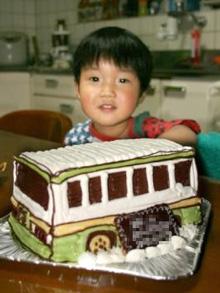 高槻市営バスの立体ケーキ