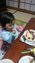 アンパンマン、似顔絵ケーキ