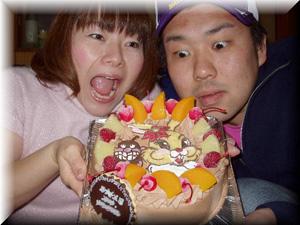 ばいきんまん、バニーのケーキ