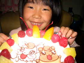 キャラクター ケーキ