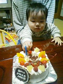 アンパンマンのケーキ