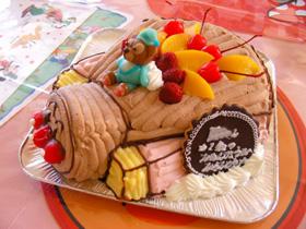 アンパンマン号、キャラクター 立体ケーキ マスコット くま