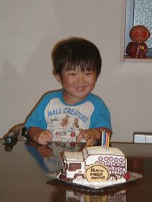 京都生協のトラック立体ケーキ