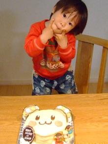 うーたんの顔型 立体ケーキ