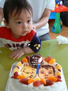 キャラクター カップル ケーキ