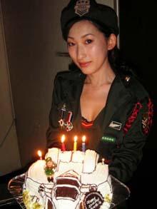 F15、飛行機の立体ケーキ