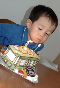 江ノ電の立体ケーキ