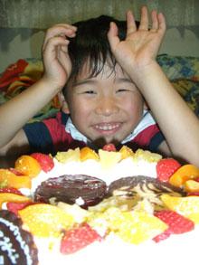 キャラクター 似顔絵 カップルケーキ