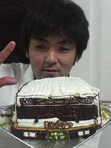 乗物 立体 ケーキ バス