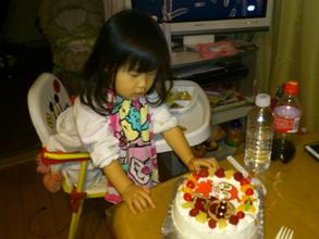アンパンマン、ドキンちゃんのケーキ
