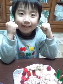 キャラクター クリスマスケーキ バイキンマン
