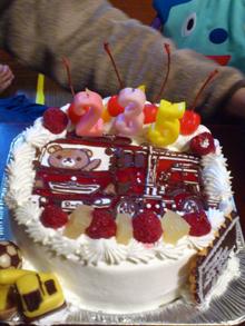 マスコット キャラクターケーキ