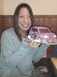 ラパン 車 ケーキ