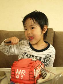 ハイパーレスキュー1号 立体 ケーキ