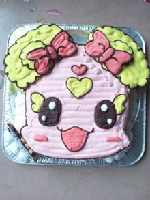 キャラクター 顔型立体 ケーキ