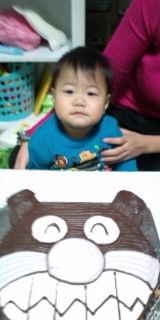 ばいきんまん、顔型立体、キャラクターケーキ