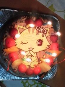 ジュエルペットのキャラクターケーキ