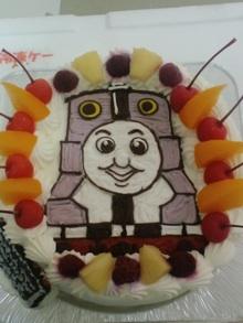 きかんしゃトーマスのイラストケーキ