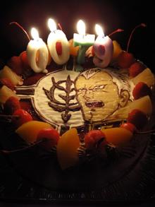 ガンダム、キャラクターケーキ