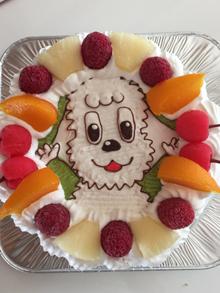 ワンワンのケーキ
