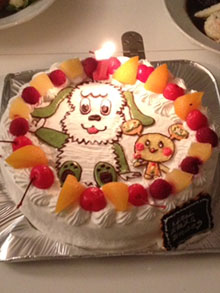ワンワン、うーたん ケーキ