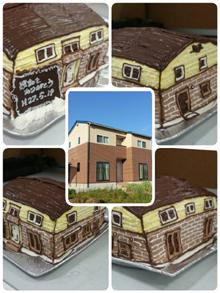 お家の立体ケーキ
