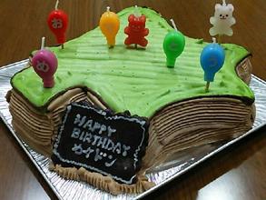 北海道の立体ケーキ
