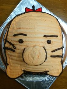 立体キャラクターケーキ