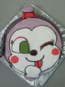 コキンちゃんの顔型 立体ケーキ