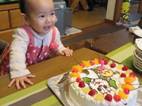 ワンワン、うーたんのケーキ