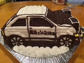 イニシャルD、トレノ86 車の立体ケーキ