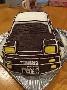 トレノ86 車の立体ケーキ