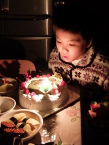 糸魚川ジオパークゆるキャラ、クリスマスケーキ