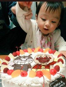アンパンマン、ばいきんまんのキャラクターケーキ