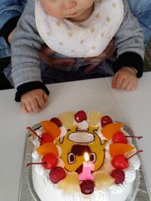 そらジローのキャラクターケーキ