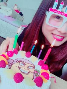 バズのキャラクターケーキ