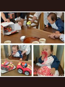 おもちゃの立体ケーキ