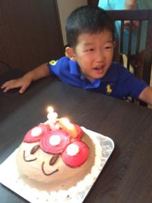 アンパンマンの顔型 立体ケーキ