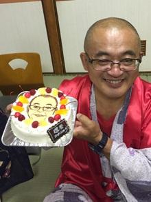 還暦祝いの似顔絵ケーキ