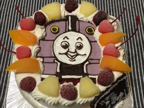 きかんしゃトーマスのキャラクターケーキ