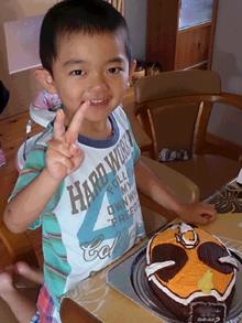 仮面ライダーゴ−ストのケーキ