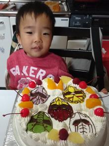 ジュウオウジャーのキャラクターケーキ