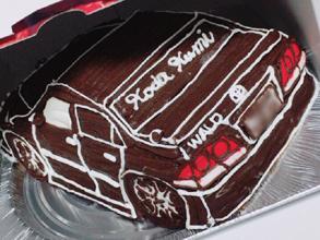 愛車の立体ケーキ(2)