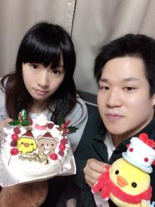 クリスマス、リラックマのキャラクターケーキ