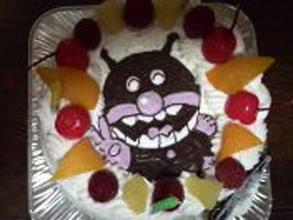 ばいきんまん、キャラクターケーキ