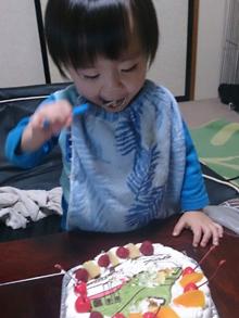 新幹線はやぶさ ケーキ